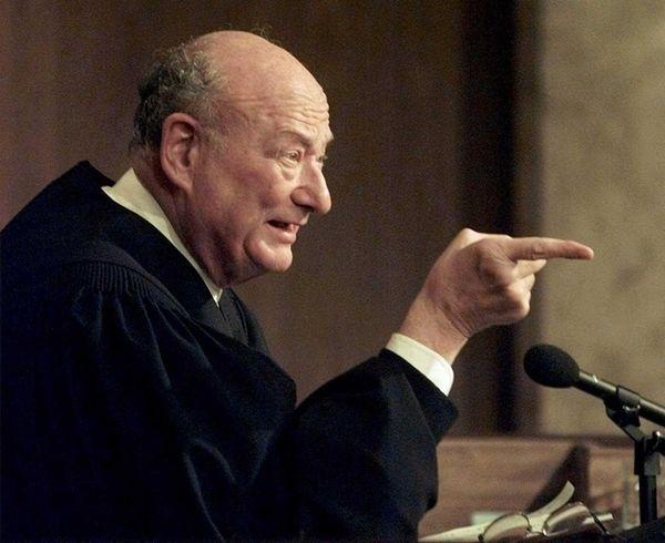 Former New York Mayor Ed Koch, shown at