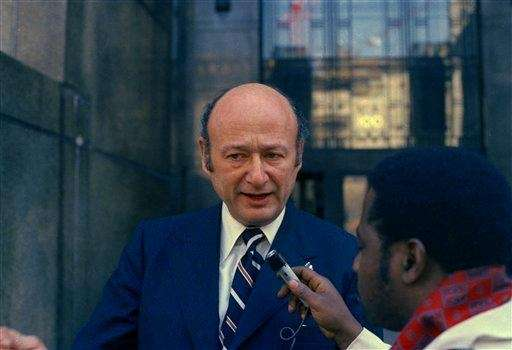 Rep. Ed Koch, representing New York's 18th district