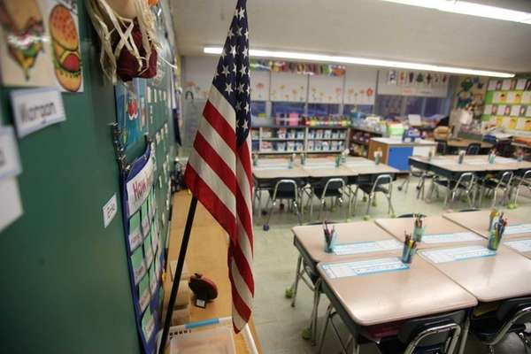 A school classroom. (2012)