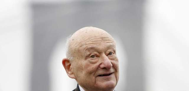Former New York City Mayor Ed Koch has