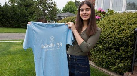 Alaha Nasari, a senior at Hicksville High School,