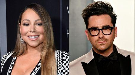"Mariah Carey and ""Schitt's Creek"" creator and star"