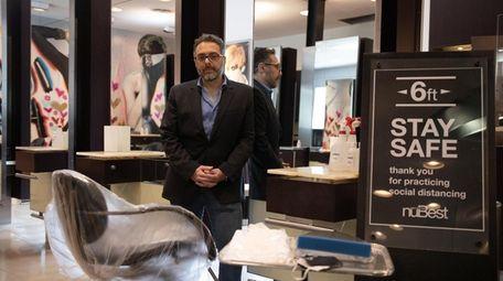 Jamie Mazzie, creative director of NuBest Salon and