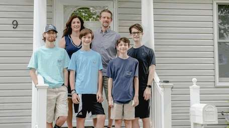 The Marcis family changed their summer plans from