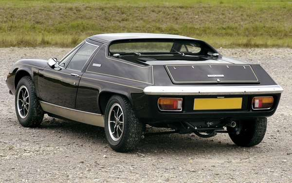 The Lotus Europa was a tiny car that
