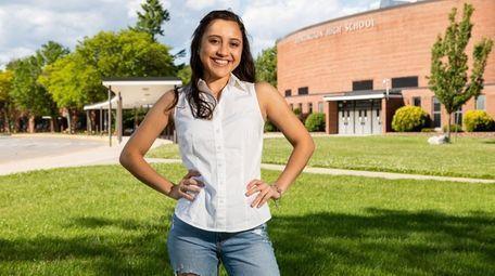 Huntington High School senior Daniela Ramos Campos, who