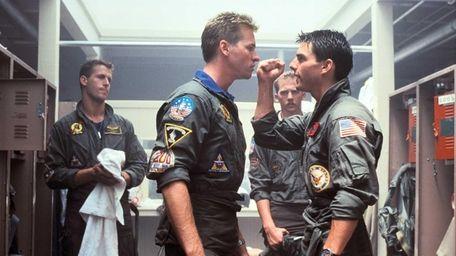 From left, Rick Rossovich is Slider, Val Kilmer