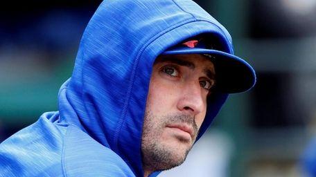 Matt Harvey of the New York Mets at