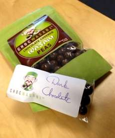 Chocwasabi's chocolate-covered wasabi peas may -- or may