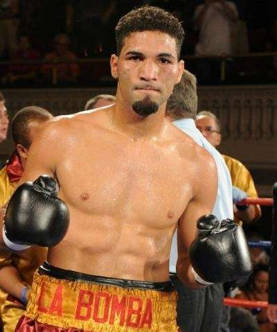 Super middleweight contender Edwin Rodriguez.