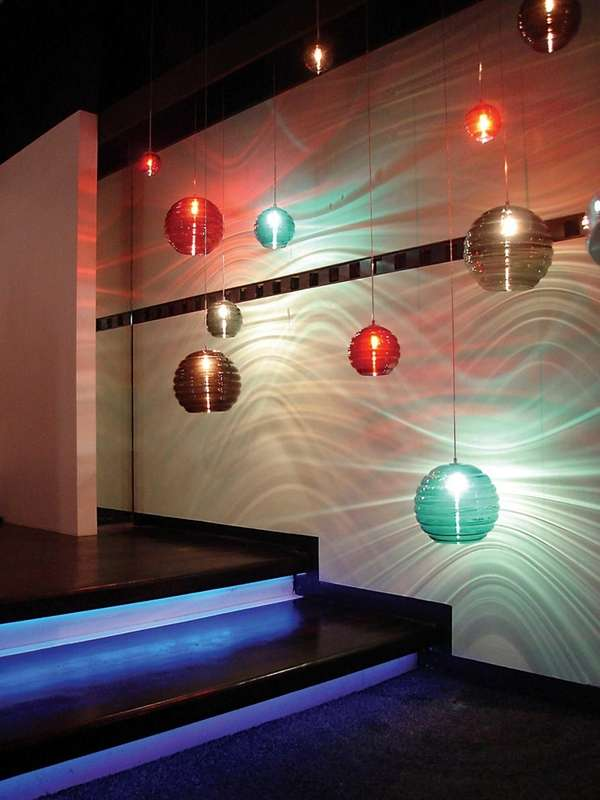 Jesco Lighting's showroom. Jesco Lighting, based in Manhattan,