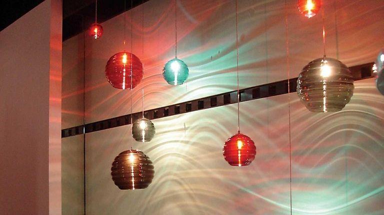 Jesco Lighting's showroom. Jesco Lighting, based in Manhattan,