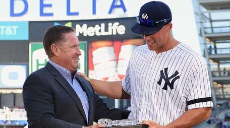The Yankees' Damon Oppenheimer, who scouted and signed
