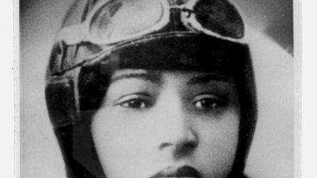 Bessie Coleman, the first licensed black female aviator,