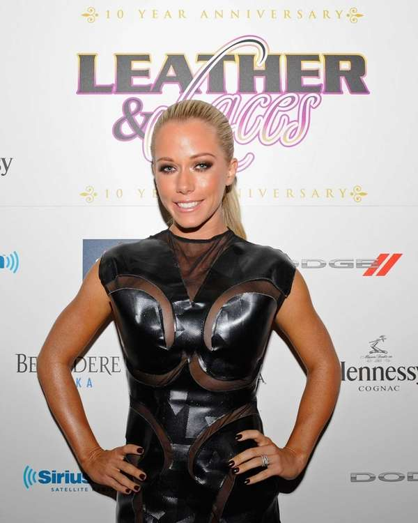Kendra Wilkinson attends the 10th Leather & Laces
