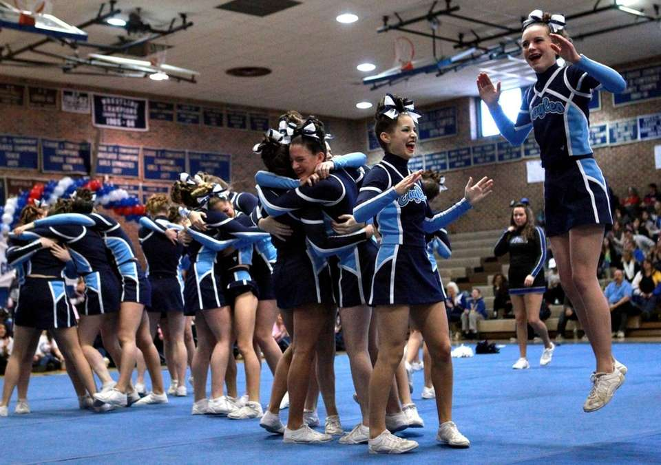 The Rocky Point High School medium varsity squad