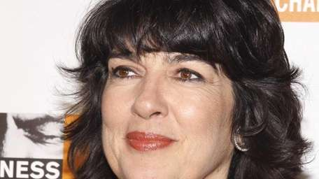 TV journalist Christiane Amanpour attends the Focus For