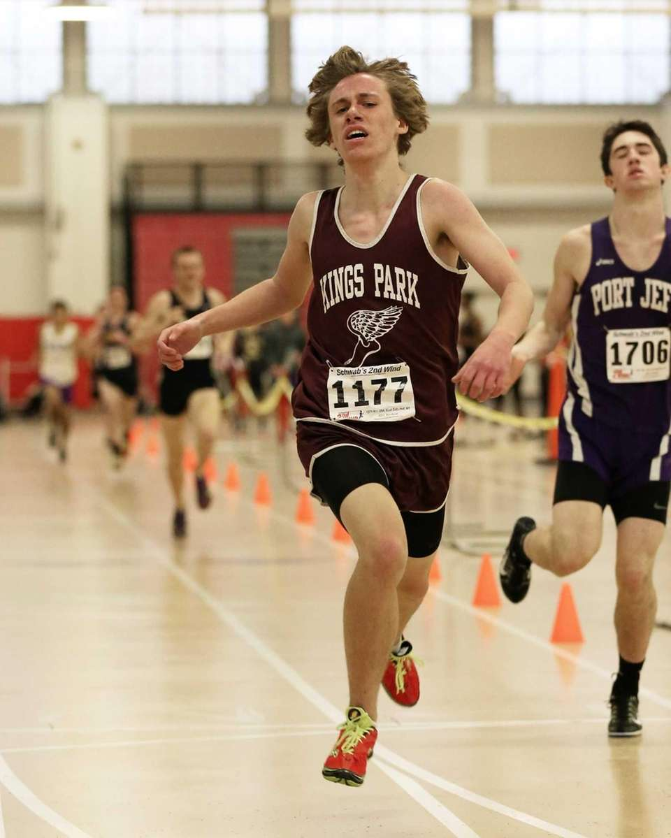 Kings Park's Connor McGurran takes third place in