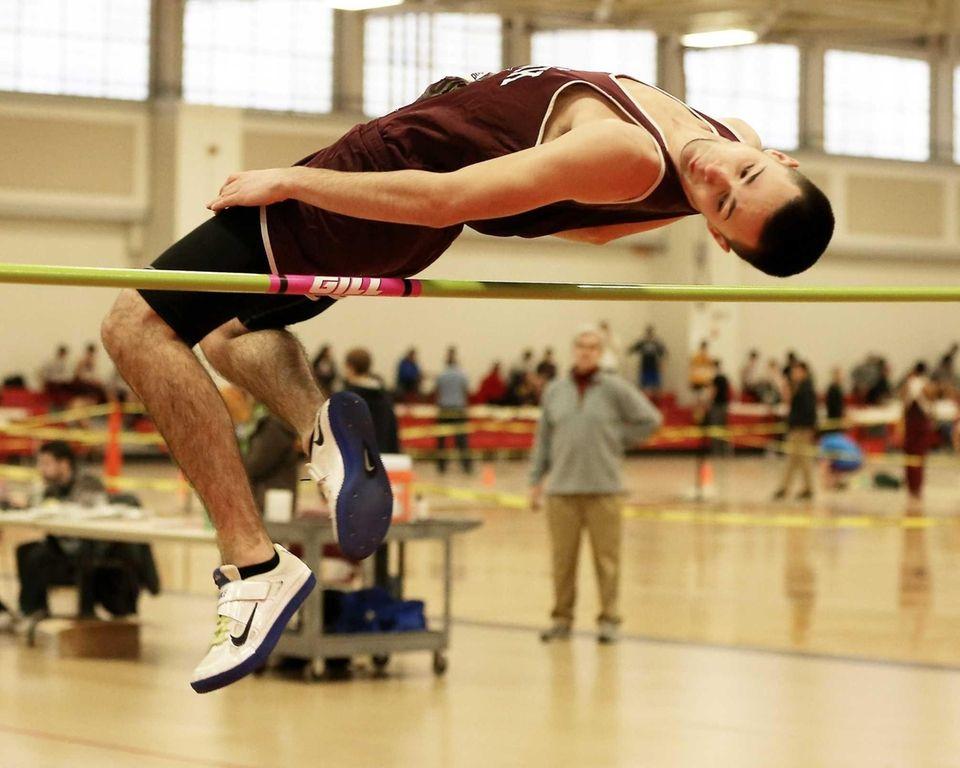 Kings Park high jumper Nick Varialle took third