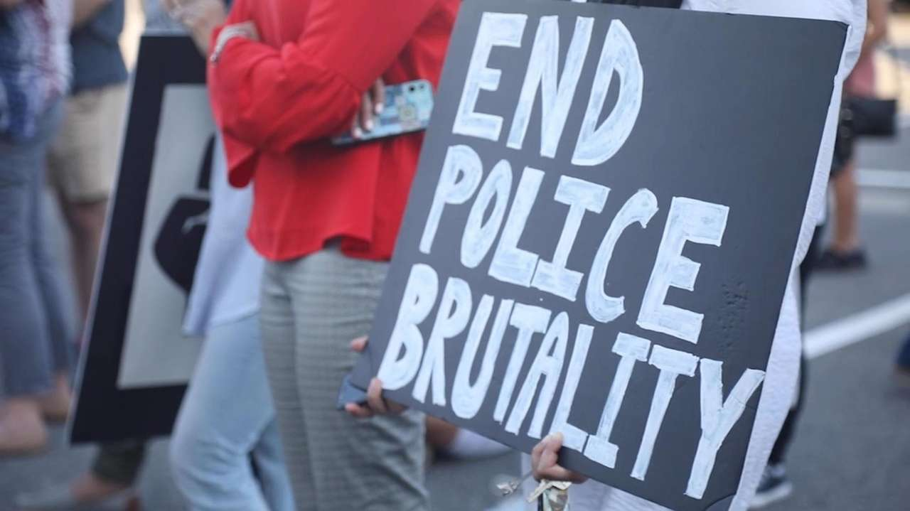 Protests against police brutality— in the wake of