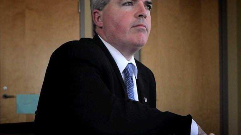 Suffolk County Executive Steve Bellone. (April 5, 2012)