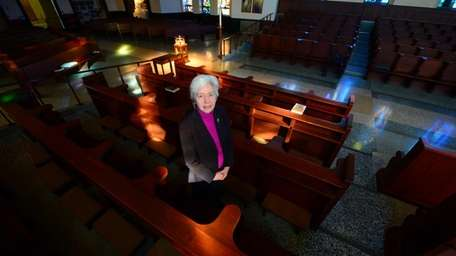 Mary Hughes, O.P., prioress of the Sisters of