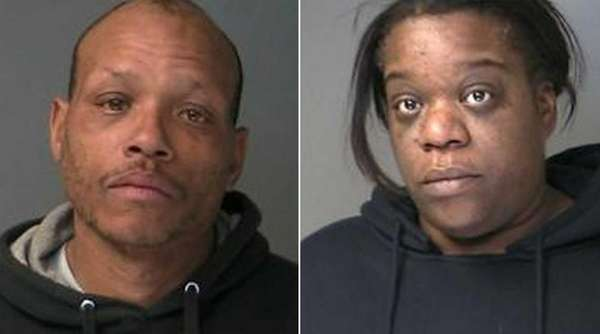 Left, Frank Dawson, 46 of Medford, and right,