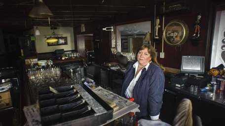 Amy Breidenbach, the owner of he Seaford restaurants