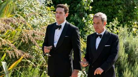 Tom Brittney (l) as Will Davenport and Robson