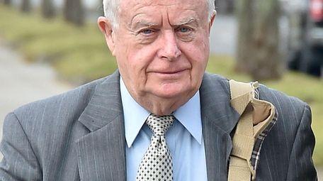 Former Suffolk County District Attorney Thomas Spota arrives