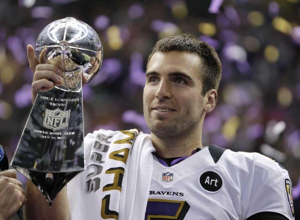 JOE FLACCO, Baltimore RavensSuper Bowl wins: XLVIIFlacco completed