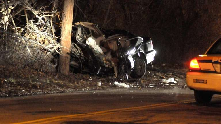 One person was killed in a crash on