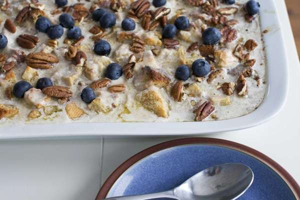 Banana bourbon bread pudding would be equally delicious
