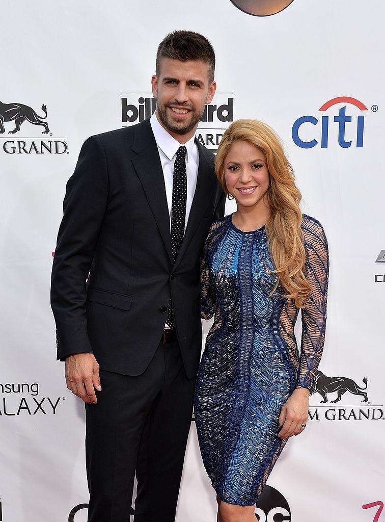Parents: Shakira and Gerard Pique Children: Milan, born