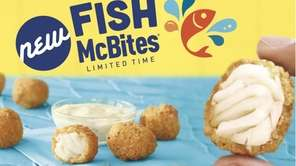 McDonald's new Fish McBites are part of a