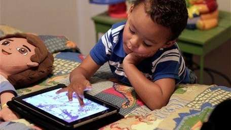 Parents should be mindful of their children's screen