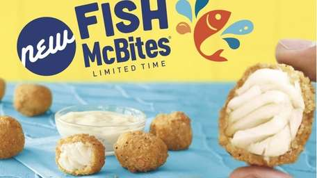 McDonald's Fish McBites are part of a new