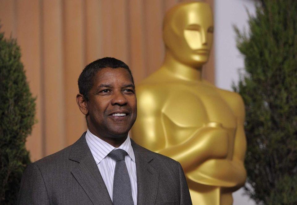 Denzel Washington, Mount Vernon: Denzel Washington, nominated for