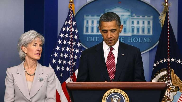 President Barack Obama is joined by Health and