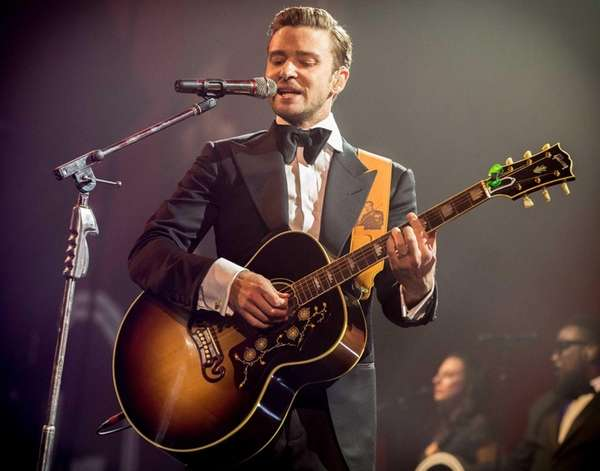 Justin Timberlake performs in New Orleans at DIRECTV