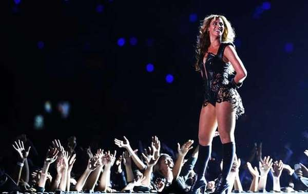 Beyonce at Super Bowl XLVII