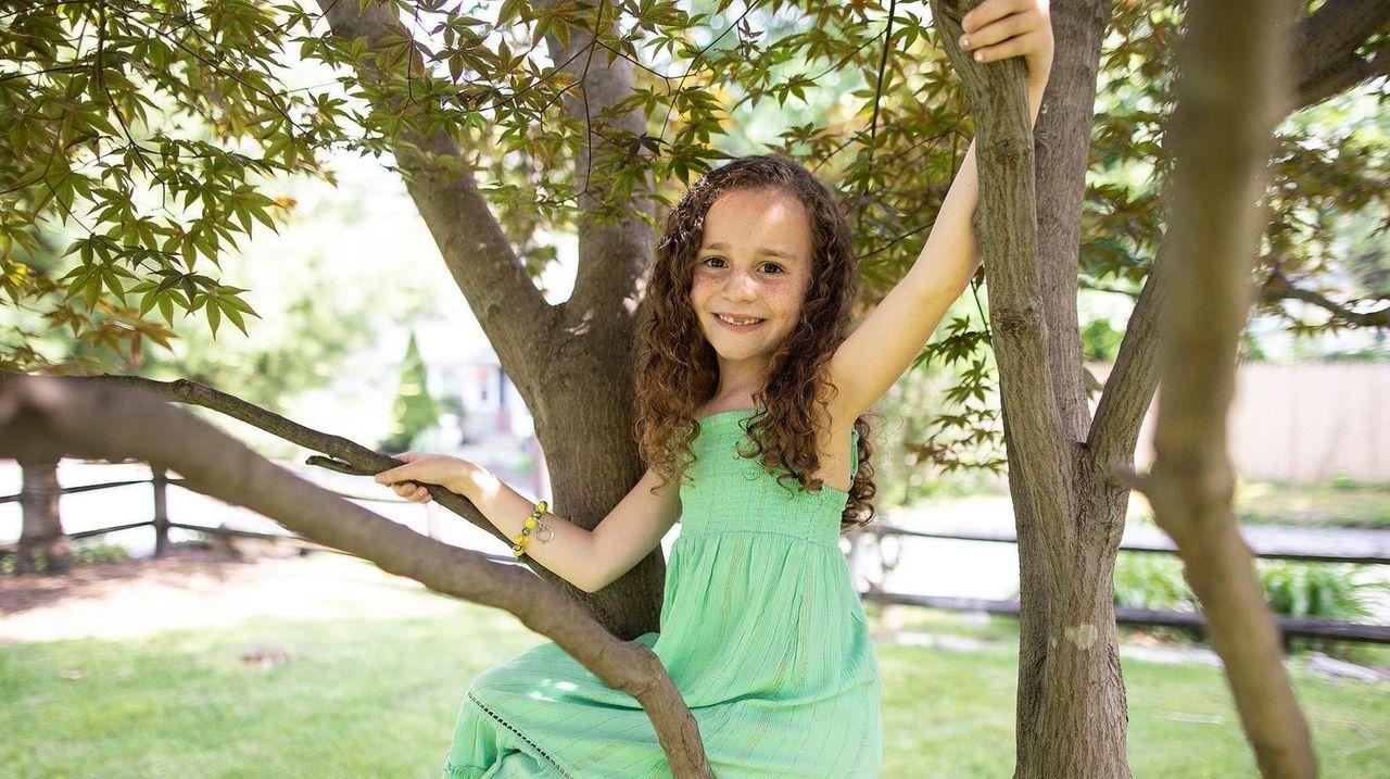 Alexis Rae Forlenza, 7, plays Kelly in
