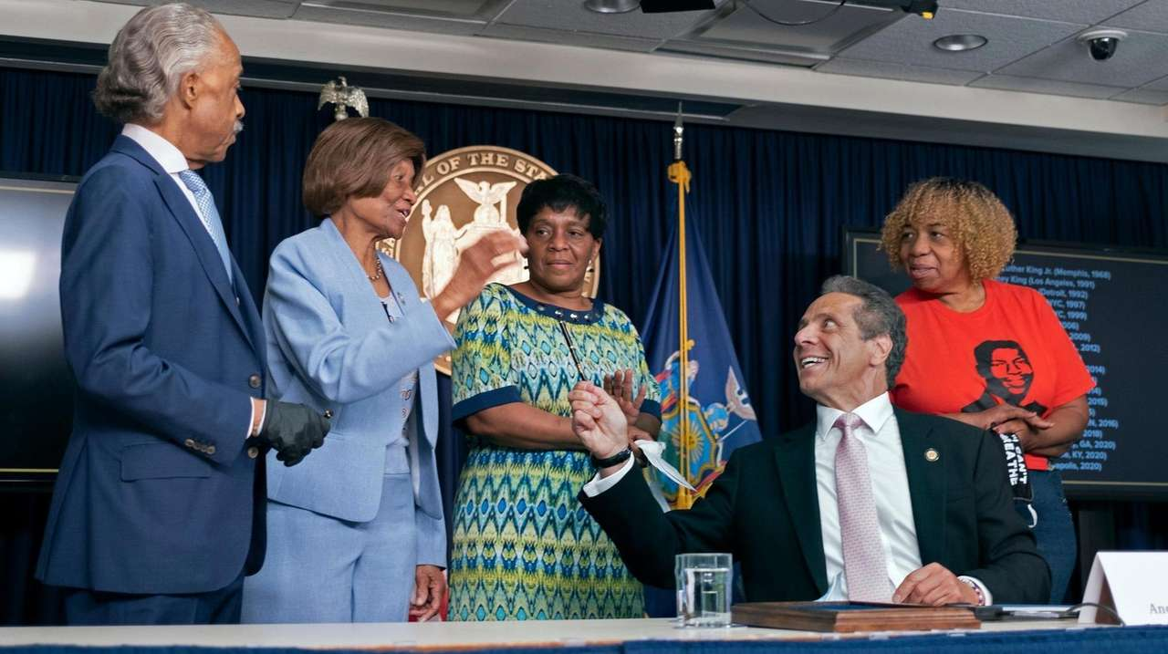 Gov. Andrew M. Cuomo on Friday signed into