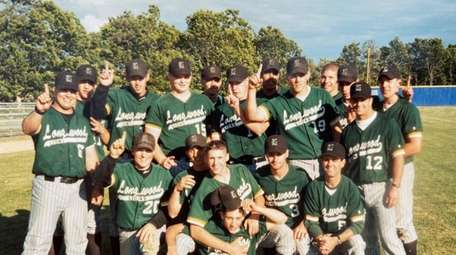 1998 Longwood High School baseball team.