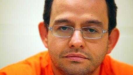 Sebastian Barba at the Nassau County Jail in