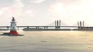 A rendition of the proposed Tappan Zee Bridge