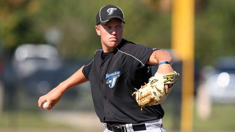 Toronto Blue Jays minor league pitcher Noah Syndergaard