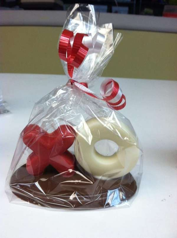 One of the Valentines Day chocolate offerings at