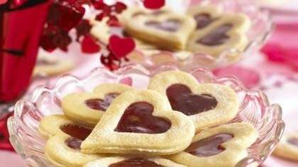 The Shortbread Sweetheart cookie recipe can be found