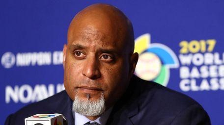 Major League Baseball Players Association Executive Director Tony